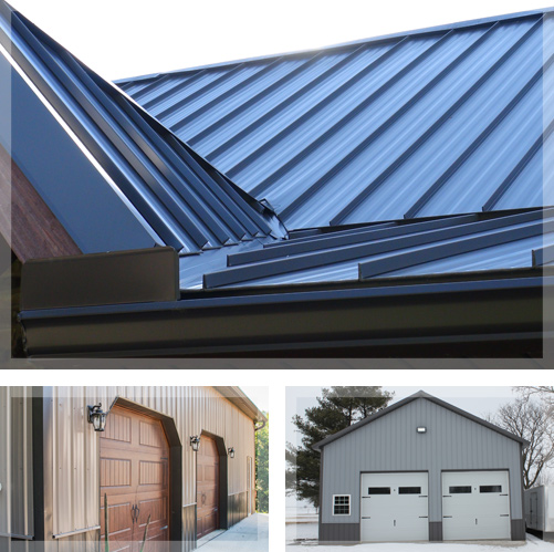 Metal Roofing Manufacturer, Post-Frame Buildings in Illinois - illinois-barn-collage