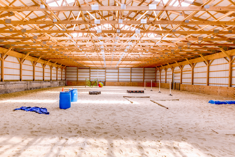 Bet on MWB for Your Equine Pole Barns